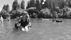 inner tubing Russian river