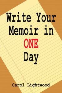 Write Your Memoir in One DAy