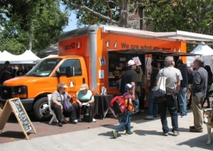Penguin's mobile book shop